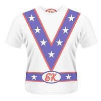 Evel Knievel Stars Collar Dye Sub T-Shirt