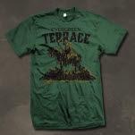 Evergreen Terrace Dead Horseman Forest Green T-Shirt