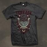 Evergreen Terrace Luck of the Ocean Heather Charcoal T-Shirt