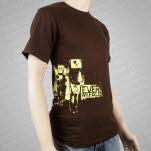 Ever We Fall Robots Brown T-Shirt
