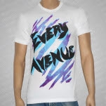 Every Avenue Scratches White T-Shirt