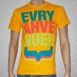 Every Avenue Stacked Yellow T-Shirt