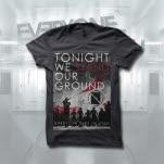Everyone Dies In Utah Tonight We Stand Dark Grey T-Shirt