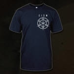 Everything In Slow Motion Emblem Navy T-Shirt