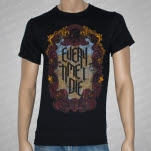 Every Time I Die Antique Mirror Black T-Shirt