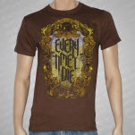 Every Time I Die Antique Mirror Brown T-Shirt