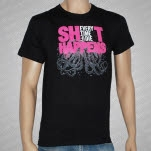 Every Time I Die ShiT Happens Black T-Shirt