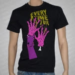 Every Time I Die Zombie Hands Black T-Shirt