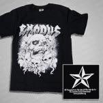 Exodus Skull Black T-Shirt