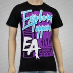 eXPLORe Apparel Bloopur Black T-Shirt