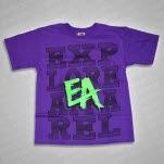 eXPLORe Apparel Self Titled Purple T-Shirt