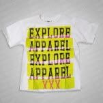 eXPLORe Apparel Tape White T-Shirt