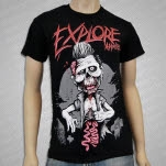 eXPLORe Apparel Zombie Black T-Shirt