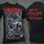 Extol Betrayal Black T-Shirt