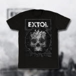 Extol Skull Black T-Shirt