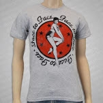Face To Face Pin Up Heather Grey T-Shirt