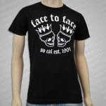 Face To Face Skulls Black T-Shirt