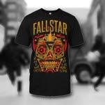 Fallstar Immortal Skull Black T-Shirt