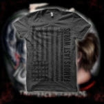 Famous Last Words America Charcoal Grey T-Shirt