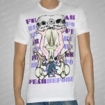 Fear Before Antler Skulls White T-Shirt
