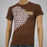 Fear Before Eyes Watching You Brown T-Shirt