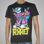 Ferret Records Bull Gray T-Shirt