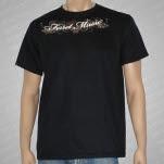 Ferret Records Collar Logo Black T-Shirt