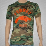 official Ferret Records Ferret Gun Camo T-Shirt