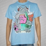 Ferret Records Lunch Time Light Blue T-Shirt