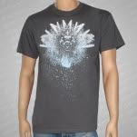 Ferret Records Skulls Dark Gray T-Shirt