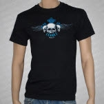 Ferret Records Winged Death Black T-Shirt