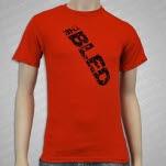 Fiddler Records Logo Red T-Shirt