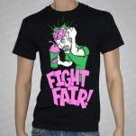 Fight Fair Brain Freeze Black T-Shirt