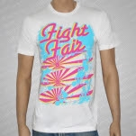 Fight Fair Surf Boards White T-Shirt