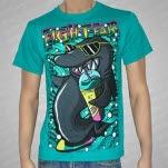 Fight Fair Shark Teal T-Shirt