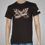Fight Paris Southern Eagle Brown T-Shirt
