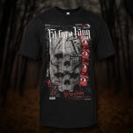 Fit For A King Double Skull Black T-Shirt
