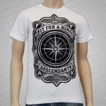 Fit For A King Emblem White T-Shirt