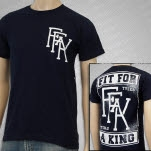 Fit For A King Fit For A King Navy T-Shirt
