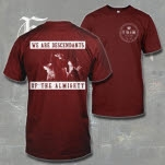 Fit For A King Live Shot Maroon T-Shirt