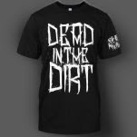Fit For An Autopsy Dead In The Dirt Black T-Shirt