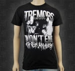 Fit For An Autopsy Tremors Black T-Shirt