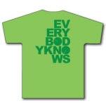 Floormodel Everybodyknows Grass Green T-Shirt