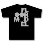 Floormodel Logo Black T-Shirt