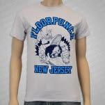 Floorpunch Bong Smasher Light Grey T-Shirt
