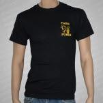 Floorpunch Straight Edge Black T-Shirt