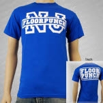 Floorpunch Raw Deal Blue T-Shirt