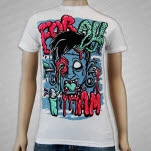 For All I Am Face White T-Shirt