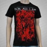 For All I Am Tiger Black T-Shirt