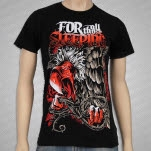 For All Those Sleeping Vulture Black T-Shirt